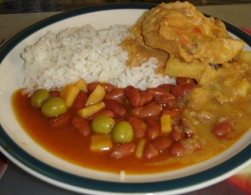 Rice and beans, Puerto Rican, Puerto Rico