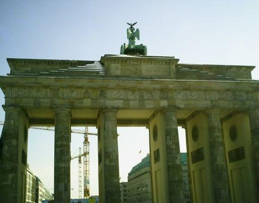Brandenburg Gate in Berlin. Berlin