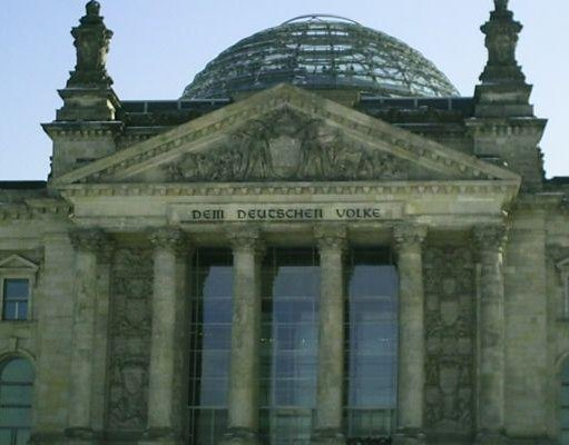 Berlin Germany The Reichstag building, Berlin.