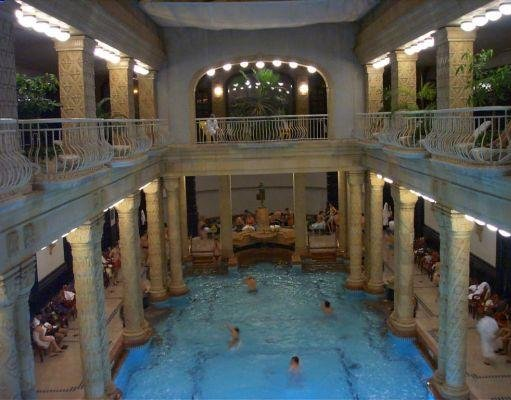 Széchenyi Thermal Bath in Budapest., Budapest Hungary