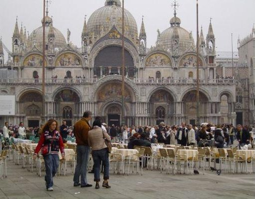 Piazza San Marco in Venice, Italy., Italy
