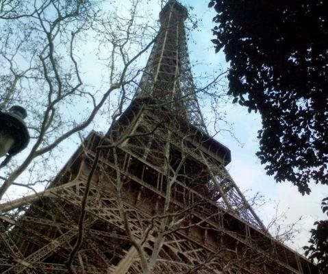 Photo of the Eiffel Tower in Paris., France