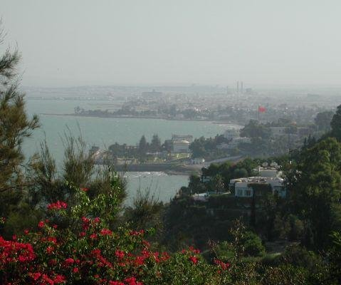 Panoramic photos of Tunisia. Tunis