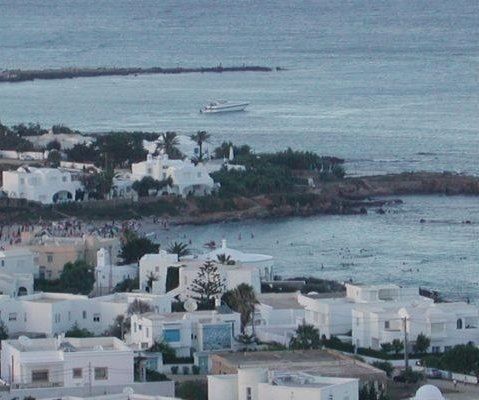 The white houses of Tunis, Tunisia., Tunisia