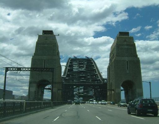 Sydney Harbour Bridge., Sydney Australia