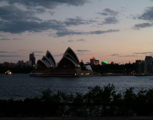 Photo of the Opera House in Sydney., Sydney Australia