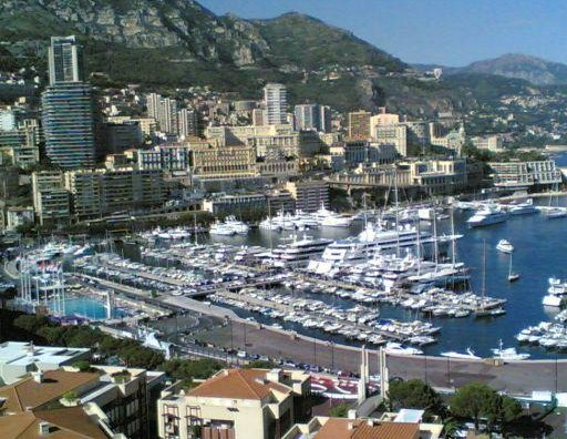 Panoramic photo of Montecarlo. Monaco