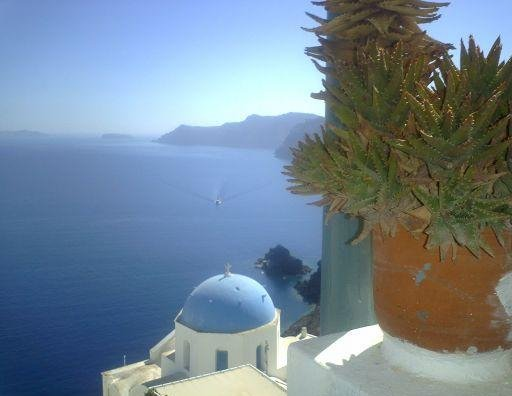 Photos of Santorini in Greece., Greece