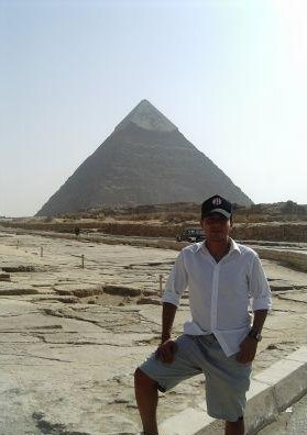 The pyramids in Egypt. Cairo  