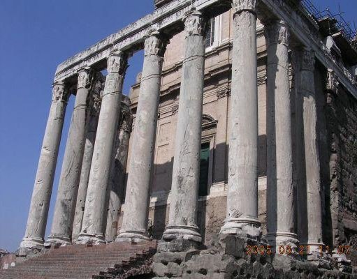 The Fori Imperiali in Rome, Italy., Rome Italy