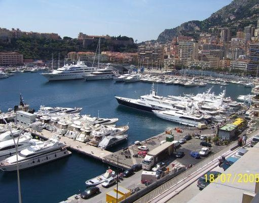 The yachts of Montecarlo, Monaco., Monaco