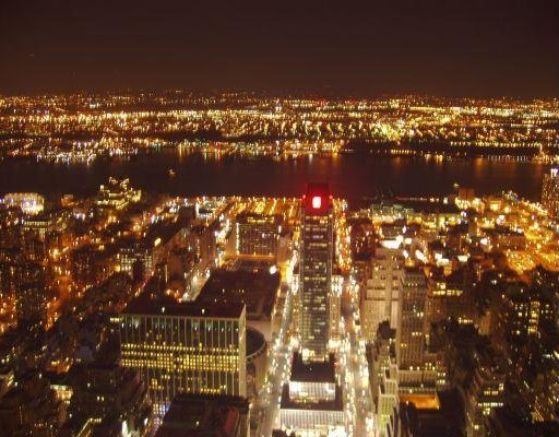 Photo taken from the Empire State Building., New York United States