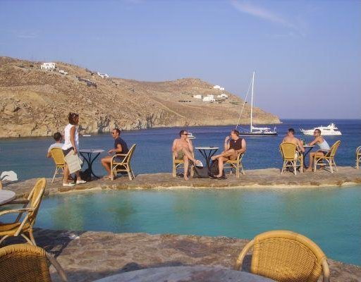 Gay bar Super Paradise, Mykonos., Greece