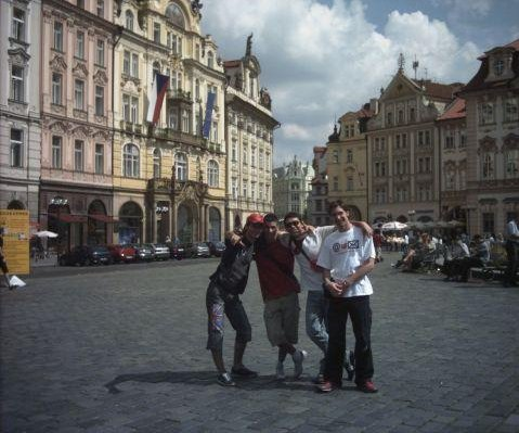 Photo on Old Town Square in Prague., Czech Republic