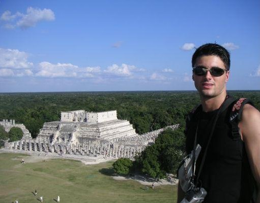Photos of the Maya ruins in Mexico., Mexico