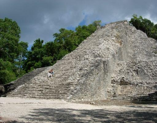 Maya site in Mexico., Mexico