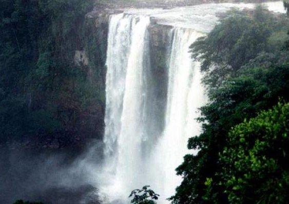 Gran Sabana Waterfall in Venezuela., Venezuela