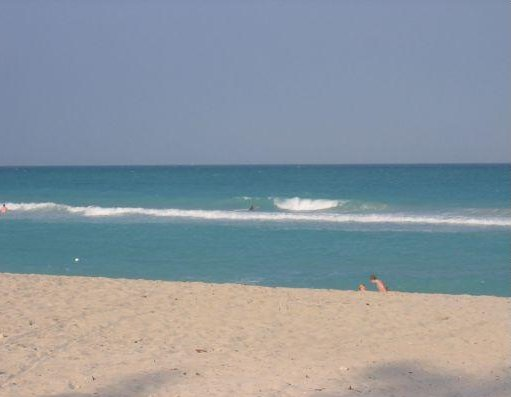 Photos of the beach in Miami., United States