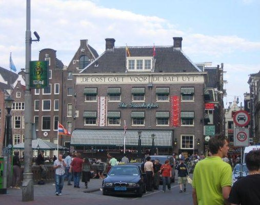 De Cost Gaet Voor De Baet Uyt, Amsterdam., Netherlands