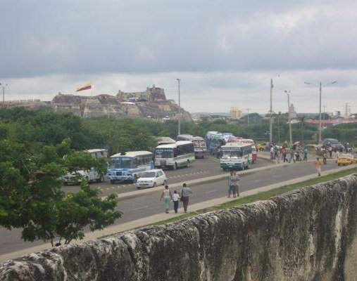 Bus tours to Fortaleza San Felipe de Barajas in Cartagena., Colombia