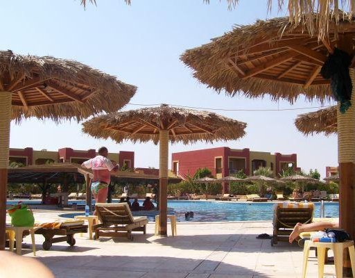 Another swimming area at teh Tulip Resort in Marsa Alam, Egypt. Marsa Alam