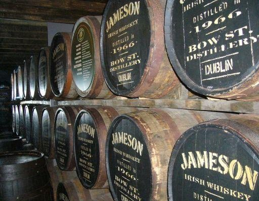 Dublin Ireland The famous Irish Jameson Whisky in Dublin.