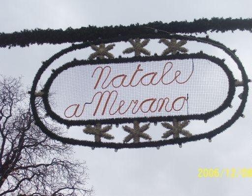 Christmas market in Merano, Italy., Italy