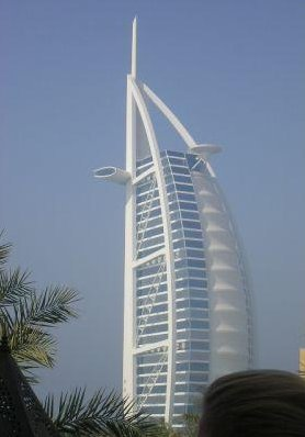 The famous Burj Al Arab., United Arab Emirates