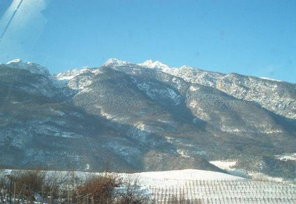 Winter holiday in Norther Italy, province of Trento. Andalo