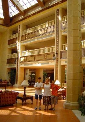 Photo of our hotel in Egypt., Egypt