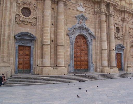 Basilica in Sciacca, Sicily., Sicily Italy