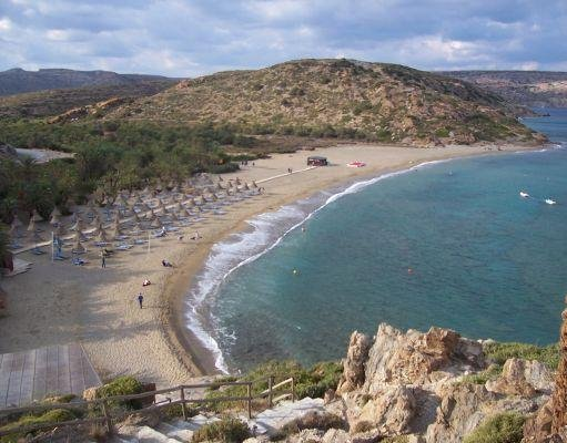 The beaches of Crete in October., Greece