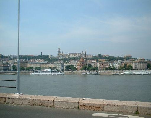 The Danube River in Hungary., Budapest Hungary