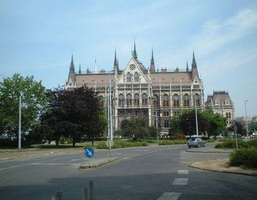 Budapest Hungary The Parliament of Hungary.