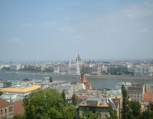 Panoramic view of Budapest., Hungary