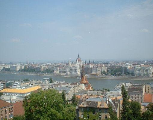 Panoramic view of Budapest., Budapest Hungary