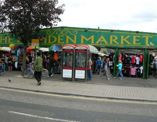 London United Kingdom The markets of Camden Town.