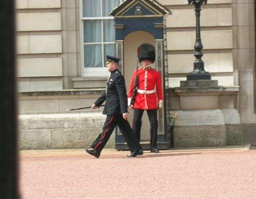 London United Kingdom Changing  the Guard at Buckingham Palace, London.