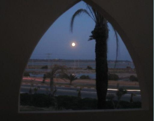 Photo of Monastir at sunset. Monastir