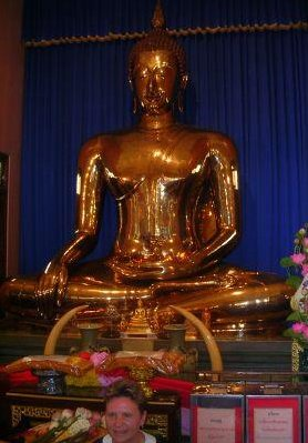 Ko Phangan Thailand The Golden Buddha.
