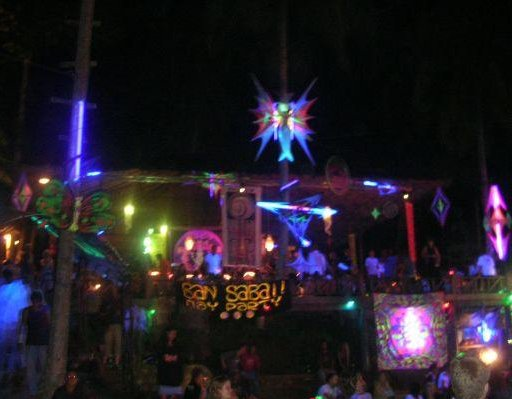 Half Moon Party on Ko Phangan, Thailand., Thailand