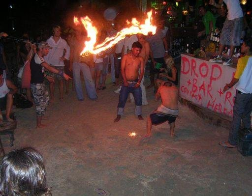 Photos of the Full Moon Party on Ko Phangan., Thailand