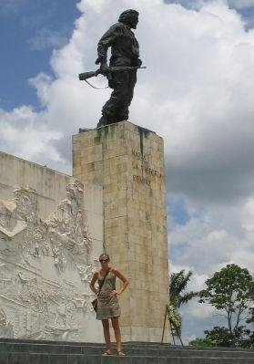 The statue and the tombe of Che Guevara in Santa Clara, Cuba., Havana Cuba