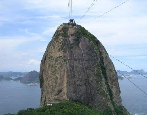 The Pao de Azucar in Brazil., Brazil
