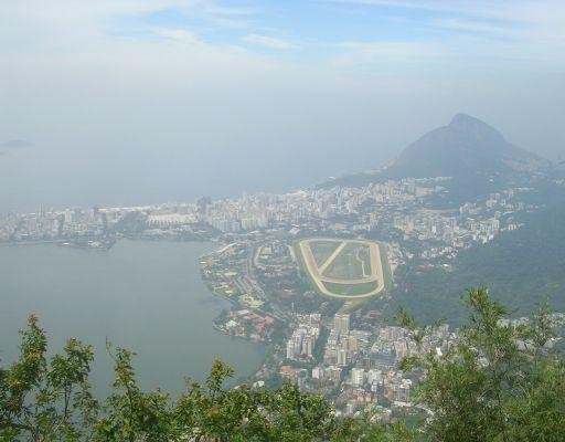 Salvador Brazil Panoramic view of the Corcovado, Brazil.