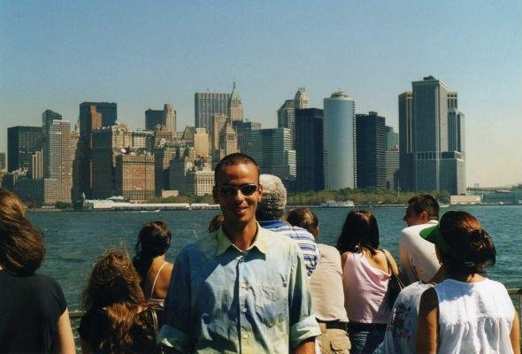 Photo of the WTC Skyline of New York., United States
