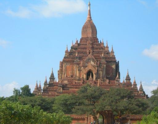 Photos of the temples in Bagan, Myanmar. Amarapura