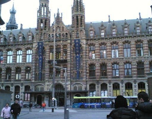 Magna Plaza from Dam Sqaure, Amsterdam., Netherlands