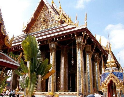 Buddhist temple, Thailand. Bangkok