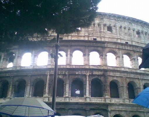 Photo of the Colosseum in Rome, Italy., Rome Italy